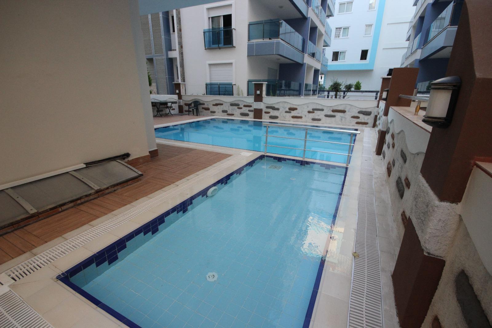 Квартира 1+1 в Махмутларе в 300 метрах от моря