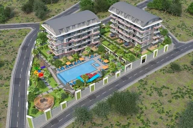 Новый жилой комплекс с видом на море!