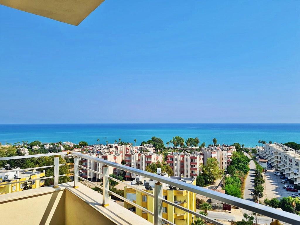 Квартира в Мерсине с панорамным видом на море