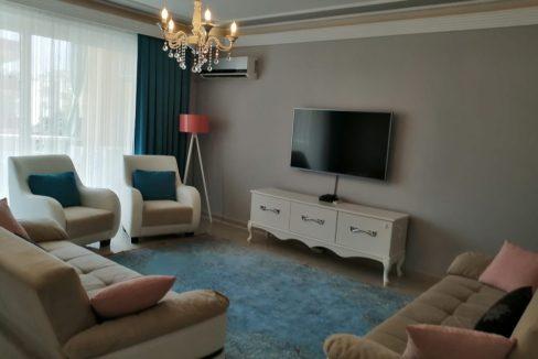 Продаётся квартира 2+1 с мебелью в 150 метрах от пляжа