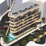 Эксклюзивный жилой комплекс в 250 метрах от пляжа Клеопатры.