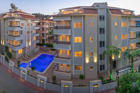 Продажа достойных апартаментов 1+1 в Алании, оба